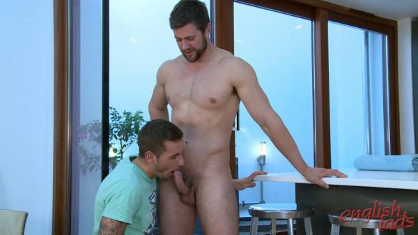 Muscular Straight Lad Cory gets his 1st Man Blow Job & Shoots Across His Whole Body! (Dan Broughton)