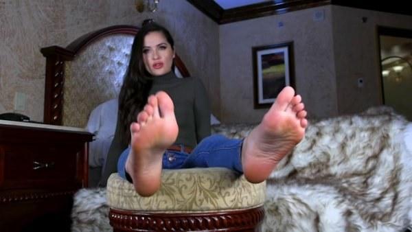 Goddess Alessa  - Guilty Pleasure - Foot Fetish POv