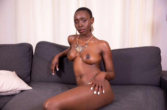 Hot African Girl On Her Couch Needs Some Dick Oculus Rift