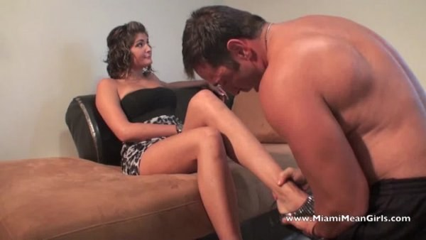 Princess Kayla - Boots For Going Out From A Slave (720p) - Foot Fetish