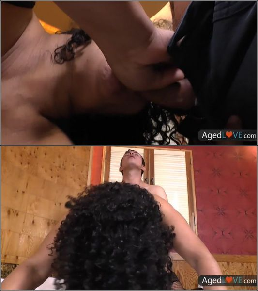 Latin Mature Fucks Young Guy In The Hotel Room  with Sharon  (HD/720p) [2021]