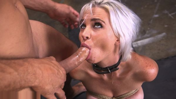 Sex Slave Astrid Star Submits To Rope Bondage And Extreme Fucking