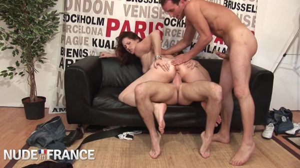 Emy Russo  - Young Parisian brunette gets fucked for casting call (08.06.2021) [HD 720p] (NudeinFrance)