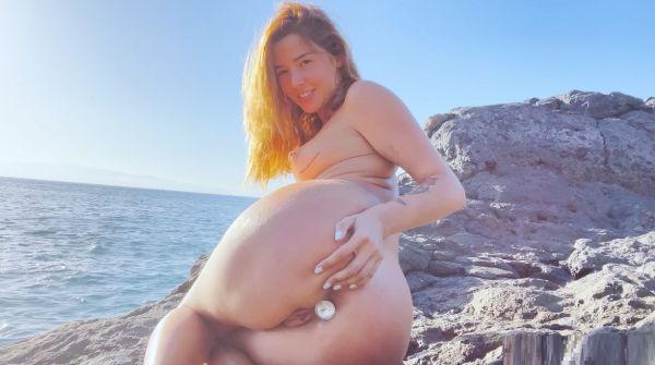 Agatha Vega - At the beach with Agatha