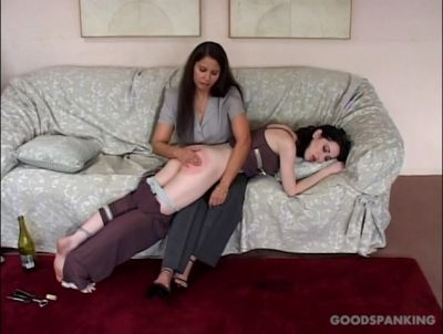 GoodSpanking - The Mina Meow Stories - A Handy Hangover Cure