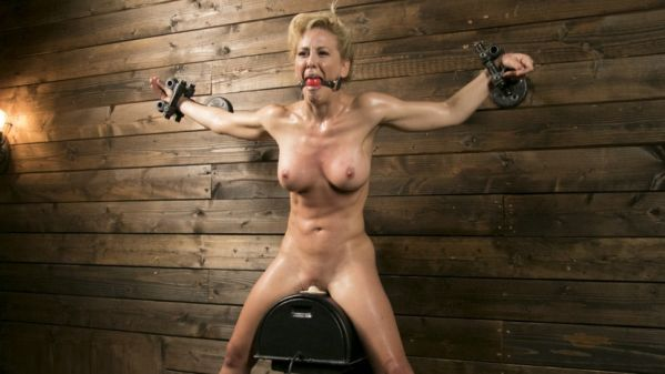 Athletic MILF Fuck Toy Cherie Deville Punished In Bondage And Sybian
