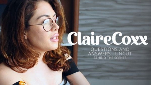 Claire Cox  - Bukkake - Claire Cox's Questions & Answers (04.06.2021) (UltraHD/4K 2160p) [2021]