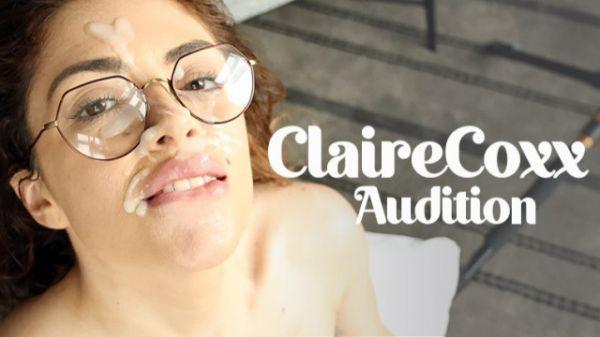 Claire Cox  - Bukkake - Claire Cox's Audition (04.06.2021) (UltraHD/4K 2160p) [2021]