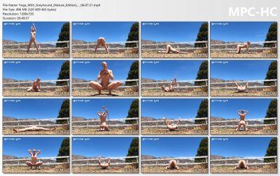 Bondage Life - Yoga With Greyhound (Nature Edition)