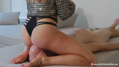 Brat Princess 2 – Mia – Uses Slaves Face To Hump And Grind