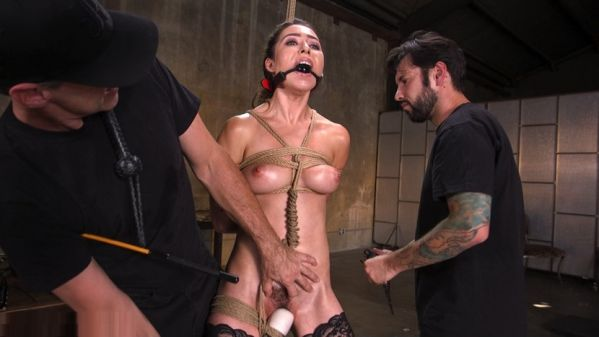 Training A Pain Slut Busty Melissa Moore s First Submission