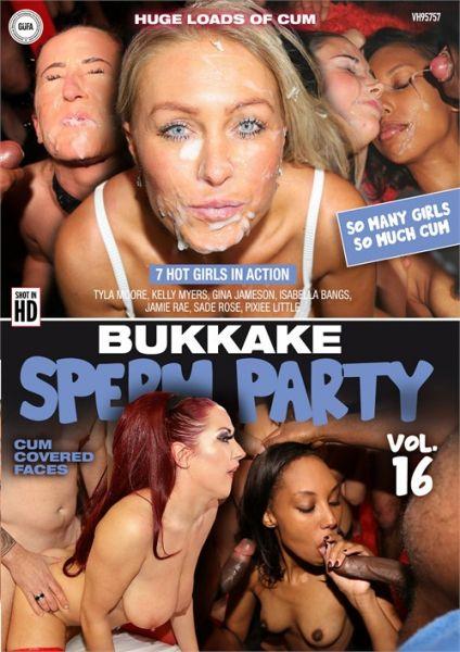 Bukkake - Bukkake Sperm Party 16  with Tyla Moore, Pixiee Little, Jamie Ray, Isabella Bangs, Kelly Myers, Gina Jameson, Sadie Rose (FullHD/1080p) [2021]