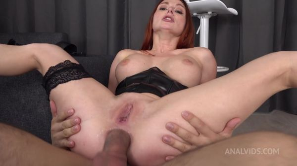 Lelya Mult - NEW SCENE !!!! Redhead Lelya Mult with big tits hard fucked in the ass - Balls Deep Anal - Squirting VK075 [HD 720p] (LegalP0rno)