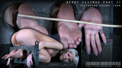 Real Time Bondage - Merry Clitmas Part Two Cherry Torn