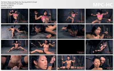 Infernal Restraints - Please and Thank You - Tia Ling