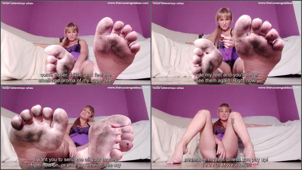 Filthy Foot Worshiper - Nadya Zabava - TheRussianGoddess