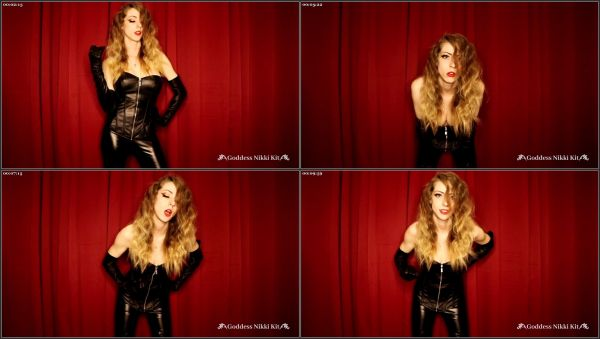 Stroke Away Your Free Will And Submit To Me - Nikki Kit