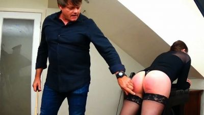 Miss Sultrybelle - Caning Zoey with Johnny Lake