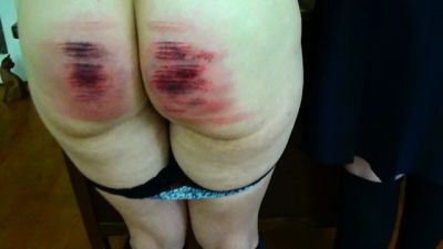 MissSultrybelle - Severe 2 girl caning and salting