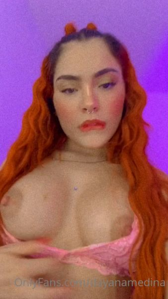 Dayana Medina Pink Lingerie video