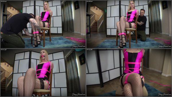 Chairtied In Sexy Lingerie - Jolene Hexx - ShinyBound