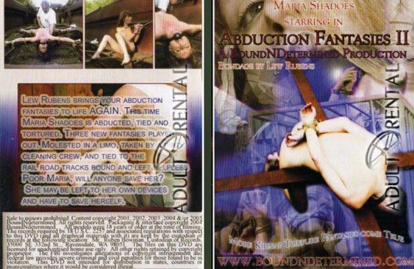 Borrowed Fantasies #2 - Maria Shadoes - BoundNDetermined