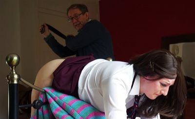 Dreams of Spanking – Waiting At Home With The Belt