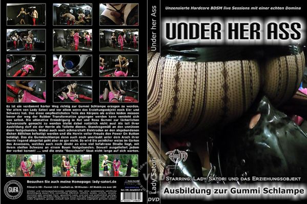 Under Her Ass - Lady Satori - Amator