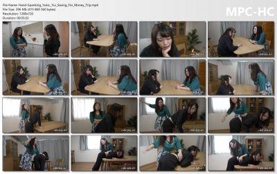 Hand-Spanking - Yuko, Yui - Saving For Money Trip