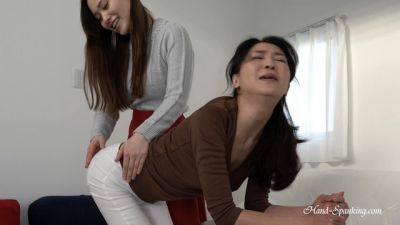 Hand-Spanking - Shihori, Miki - Spanking Solution (Eng Sub)