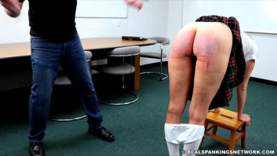 The Dean Punishes Gena For No Bra (part 1 Of 2)