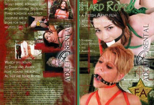 Hard Roped - Amber Wild - Fetish Army Film