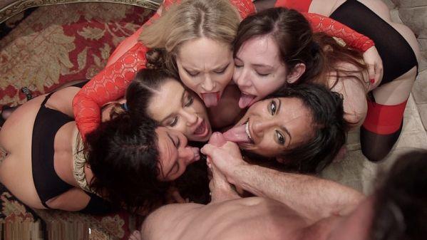 Evil & Hot Halloween Orgy