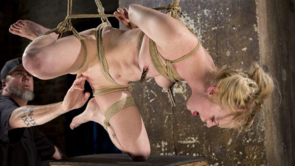 Suspension Slut Anna Tyler Succumbs To Squirting Orgasms