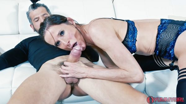 Stepsiblings Reconnect DP Threesome - Sofie Marie - YummyGirl
