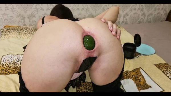 Fiftiweive69  - Dildo - I insert and push out big avocados in an (03.07.2021) (FullHD 1080p) [2021]