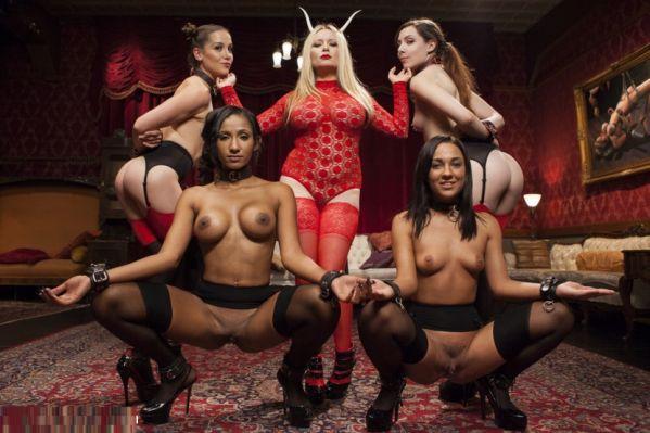 Anal Slaves Serve Kinky Costume Ball