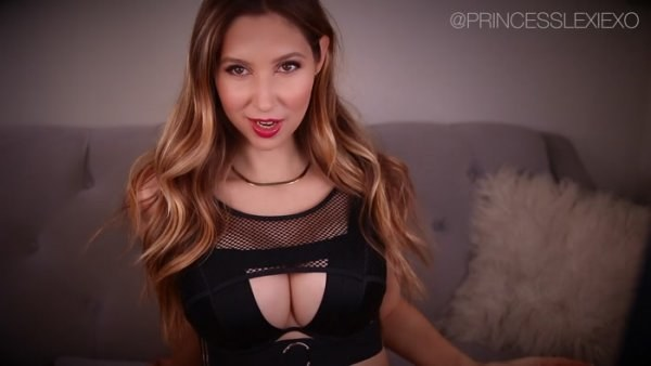Princess Lexie - Growing Your Clip Collection - Big Tits Findom