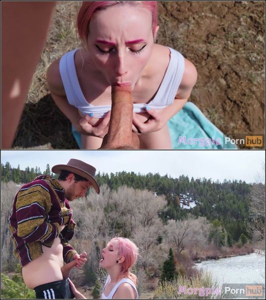 Morgpie - Porn Hub - Got Horny During Roadtrip Creampie Me In A National Forest (UltraHD/4K 2160p) [2021]