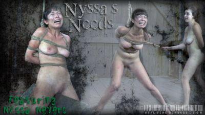 Real Time Bondage – Nyssas Needs 3 – Nyssa Nevers