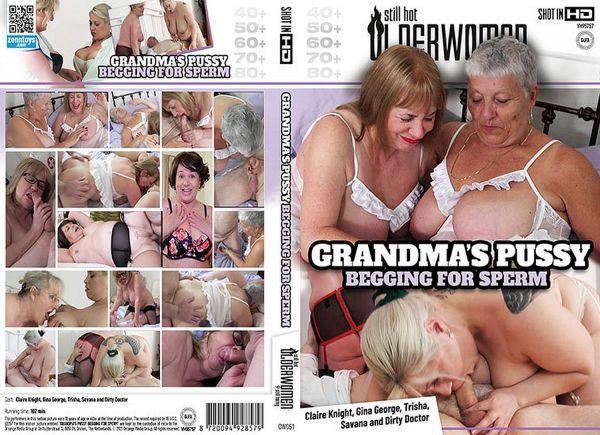 Grandmas Pussy Begging For Sperm - Auntie Trisha - Older Women