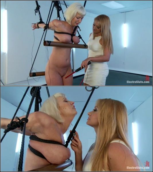 Cherry Torn,Lea Lexis  - Cherry Torn in Painful Electric Copper Pipe Predicament  (HD 720p) [2021]