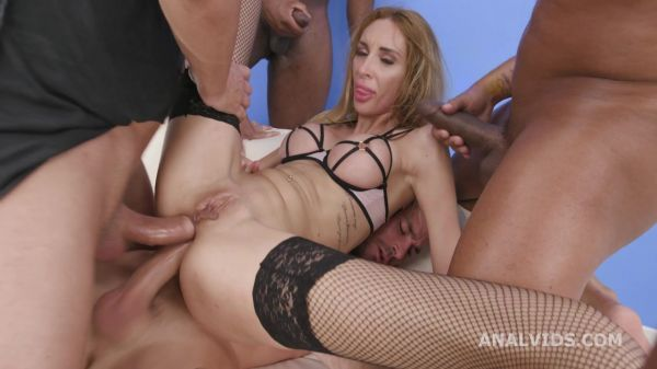 Anita Blanche - LegalP0rno - My first TP, Anita Blanche, 4on1, DAP, TAP, TP, Gapes, Almost ButtRose, Creampie, Cum in Mouth GL530 (HD 720p) [2021]