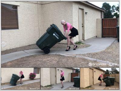 Bondage Life – Trash Day Rachel Greyhound 7/27/2021