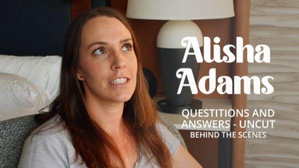 Alisha Adams - Bukkake -  Questions & Answers (23.07.2021) (FullHD 1080p) [2021]