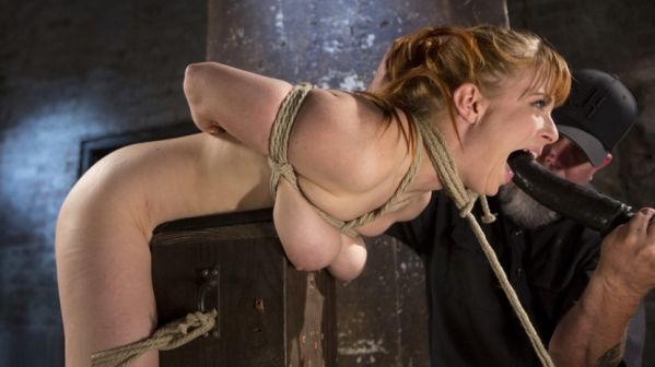 Red Headed Rope Slut Is Violated And Tormented