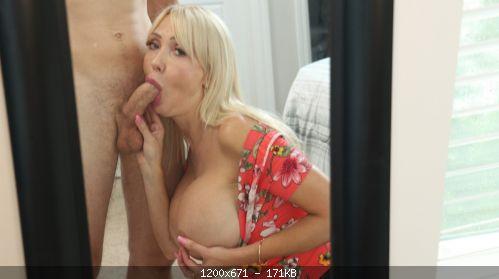 Blowjobs Victoria Lobov – MILF Cock Milking In front of Mirror