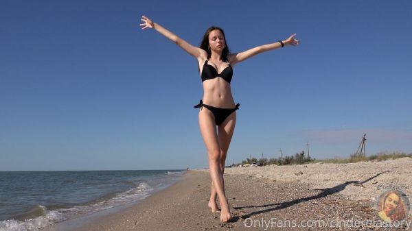 CinderellaStory Juliet-Summer Warm Morning on The Beach 10