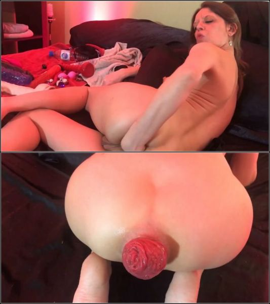 Anal Fisting - Extract show incredible prolapse with Maria Hella (HD/720p) [2020]