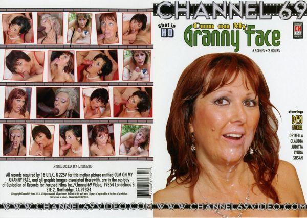 Cum On My Granny Face #1 - Desi Foxxx - Channel 69